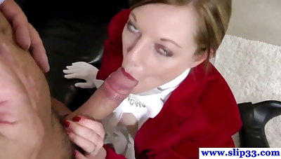 British amateur pussyfucked by an old mans hard cock