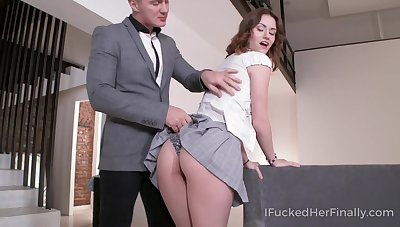 Zealous Russian coed girl Sofy Torn actually thirsts to ride strong cock