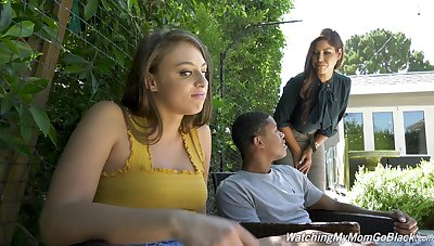 Rough threesome ends with cum on face for Bridgette B and Gia Derza