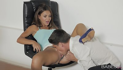 Teen all over small tits, deep sex and naughty oral orgasms