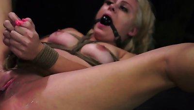 Bi cuckold foot slave and bdsm handjob She'll do anything