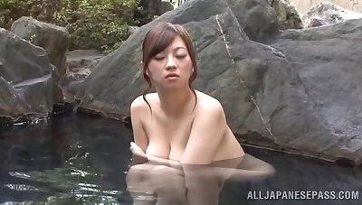 Quickie fucking on the floor with be in charge Japanese Miyuki Matsushita