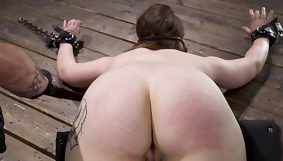 Hadley Mason is a slattern preferential who easily agrees be expeditious for BDSM act