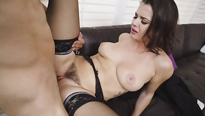 Curvy chick rides fat cock instead be beneficial to cramming for work